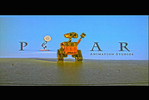 Wall E pixar by Dan Quam
