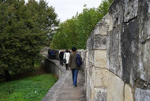 Wall in York by R J