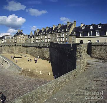 BERNARD JAUBERT - Walls of Saint Malo. Bretagne. Brittany. France. Europe