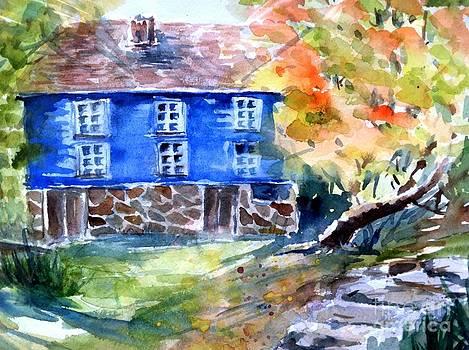 Walnford Park in the fall by Lynn Cheng-Varga