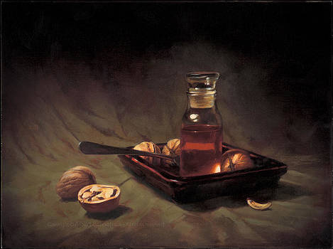 Walnuts and honey I by Albert Bonnefous