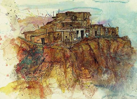 Walpi Village Hopi Reservation by Elaine Elliott
