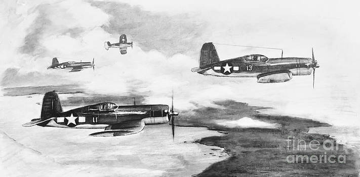 Walsh's Flight Value Sketch by Stephen Roberson