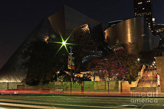Walt Disney Concert Hall  by Kevin Ashley