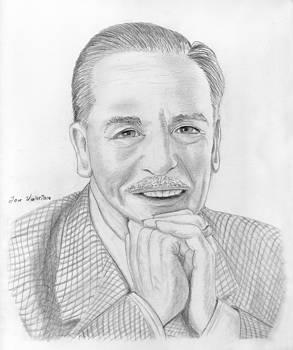Walt Disney by M Valeriano