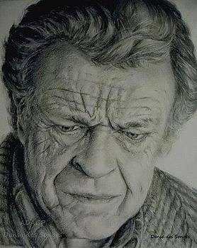Walter Bishop Portrait by Danse DesSonges