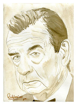 Walter Matthau by David Iglesias