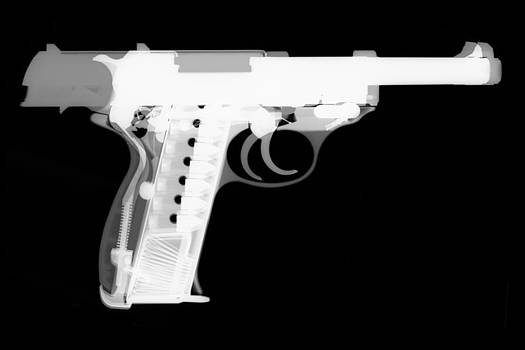 Walther P38 Reverse by Ray Gunz