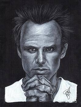 Walton Goggins by Rosalinda Markle