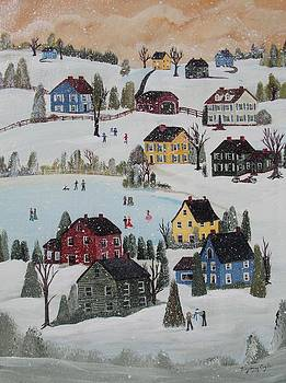 Waltzing Snow by Virginia Coyle