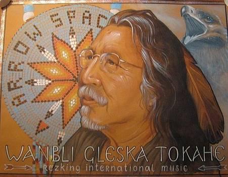 Wanbli Gleska Tokahe by Natalia Aglitskaya
