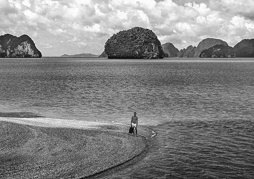 Steve Harrington - Wandering in Paradise monochrome