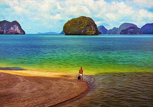 Steve Harrington - Wandering in Paradise - Paint