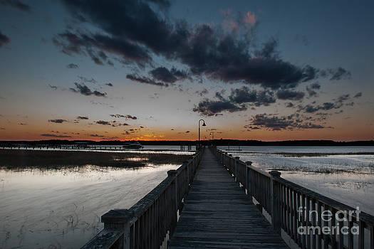 Dale Powell - Wando River Winter Sunset
