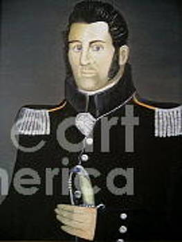 War of 1812 soldier by Robert Arsenault