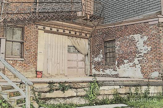 Warehouse Dock by Beverly Ann Shelby