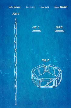 Ian Monk - Warhol Five Face Watch 2 Patent Art 1991 Blueprint