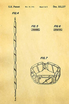 Ian Monk - Warhol Five Face Watch 2 Patent Art 1991