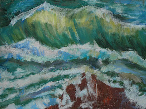Warm Wave 2 by Donna Crosby