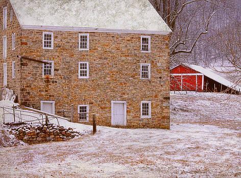 Warne's Mill Winter 2013 #2 by Pat Abbott