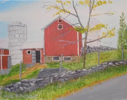 Warwick Barn I by Jack McKenzie