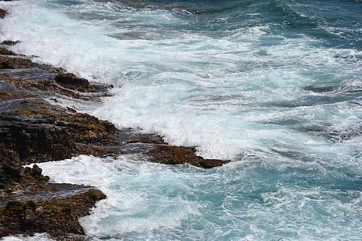 Washing Waves by Amanda Eberly-Kudamik