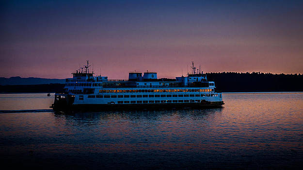 Washington Ferry  by Blanca Braun