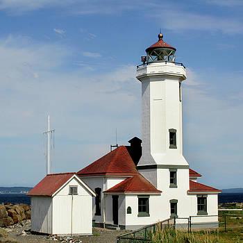 Art Block Collections - Washington Lighthouse