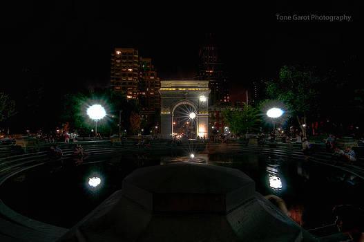 Washington Park Fountain by Tone Garot