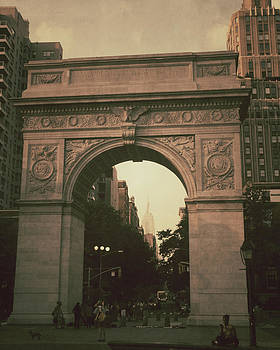 Washington Square Park Arch New York by The Art With A Heart By Charlotte Phillips