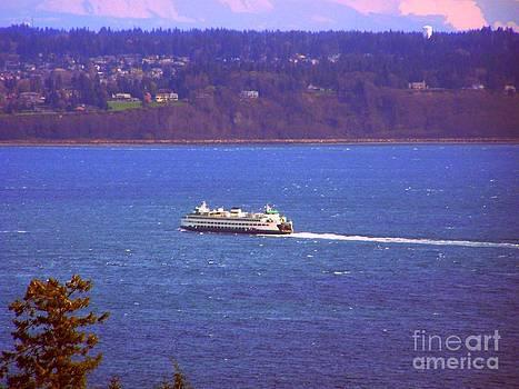 Vicki Maheu - Washington State Ferry