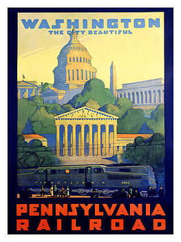 Washington The City Beautiful by Vintage