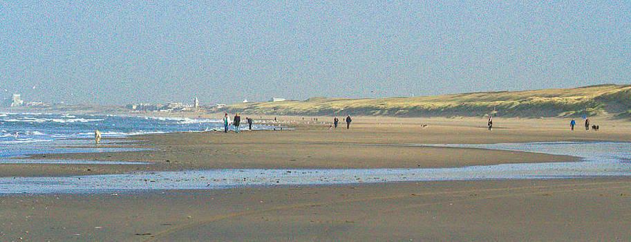 Wassenaar Beach II by Yvonne Gallagher