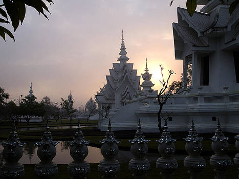 Wat Rong Khun the White Temple by Duane Bigsby