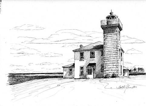 Watch Hill Lighthouse by Beth Johnston