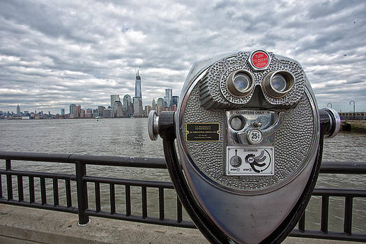 Watching Manhattan by John Dryzga