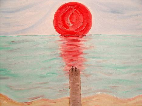 Watching The Sun Melt by Patrick J Murphy