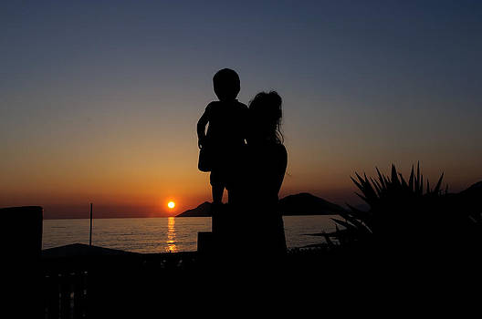 Watching the sunset by Ivelin Donchev