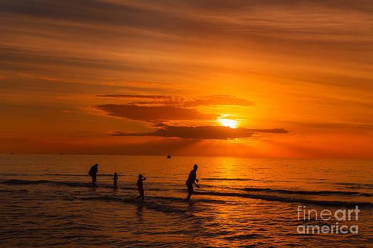 Watching the Sunset by Nicholas Tancredi