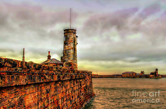 Watchtower In Whitehaven by Wobblymol Davis