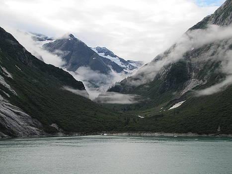 Water and Clouds of Alaska by Barbara Chachibaya