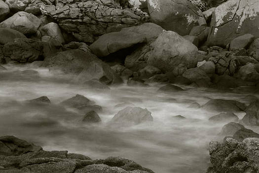 Water and Rocks by Amarildo Correa