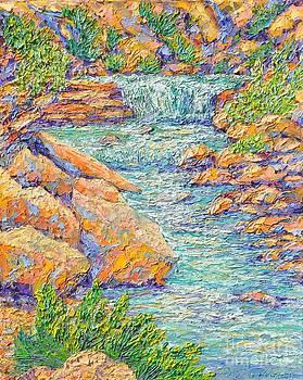 Water and Rocks by Sloane Keats