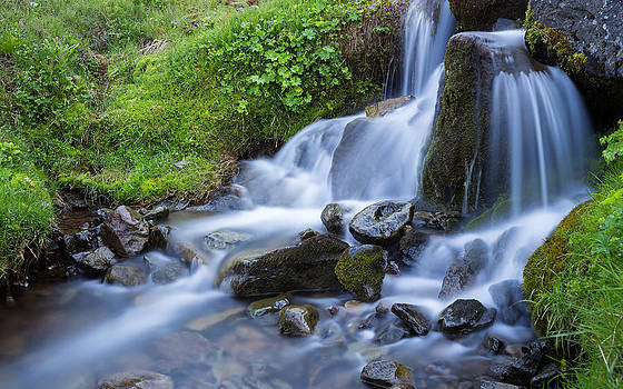 Water by Arnar B Gudjonsson