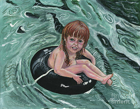 Water Babies by Janis  Cornish