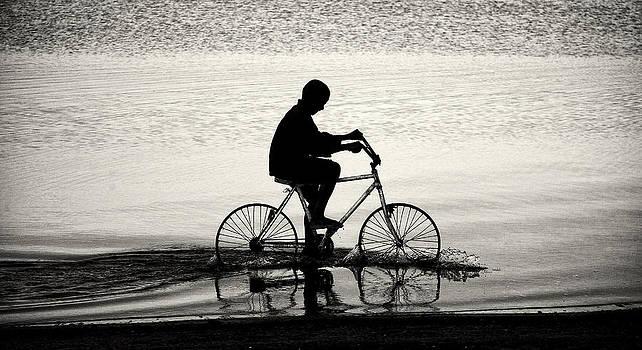 Water Biker by Jonathan Wilkins