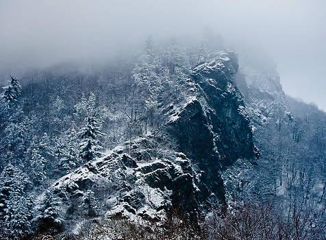 Water Gap Winter by Garth Woods