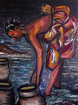 Water Girl by Laura Fatta