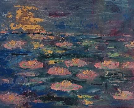 Water lilies by Adair Robinson