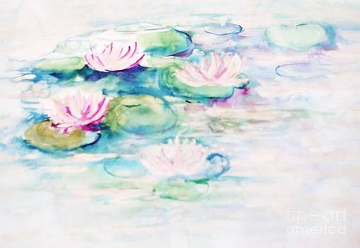 Water Lilies by Barbara Anna Cichocka